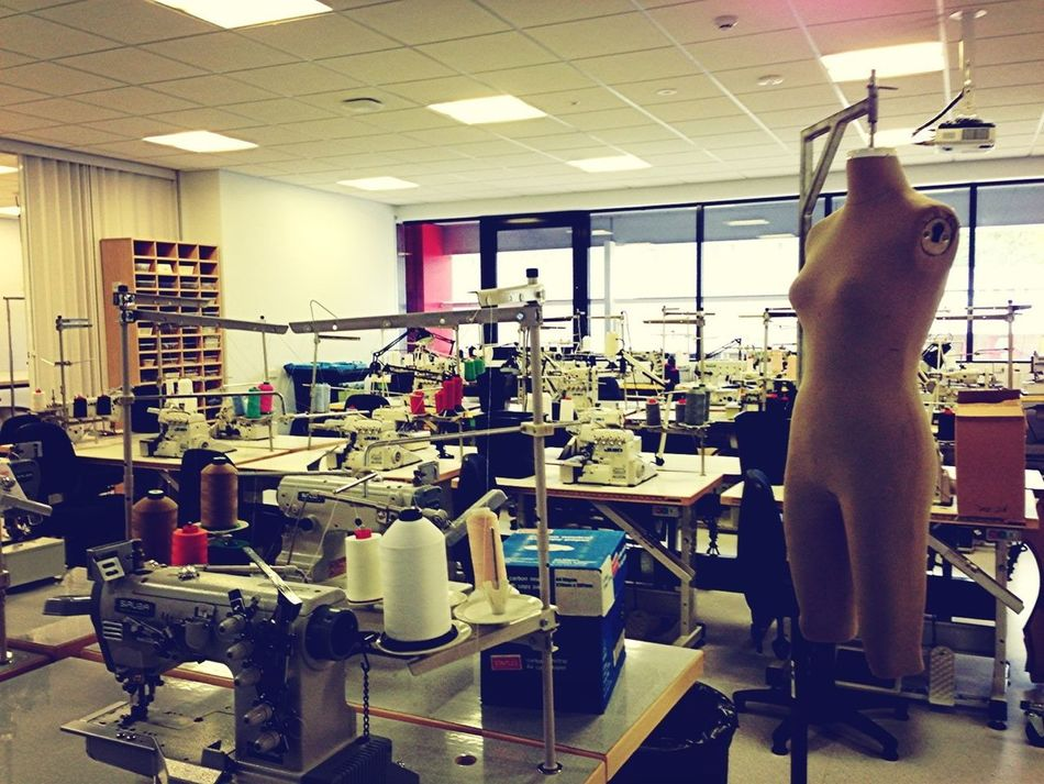 At The TAFE This Afternoon To Do A Talk To The Fashion Students...