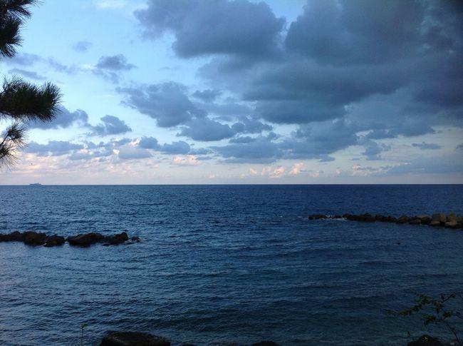 Sea Sky Clouds And Sky