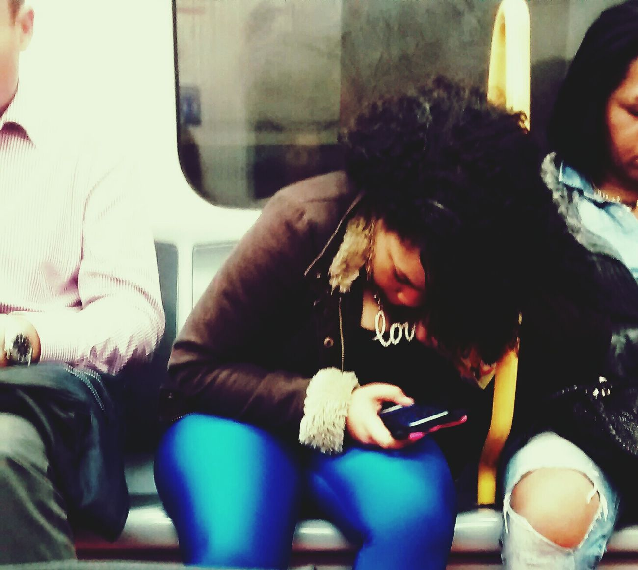 Love in Linea 6 Dem Fontana Peoplephotography Subway Portraits Women