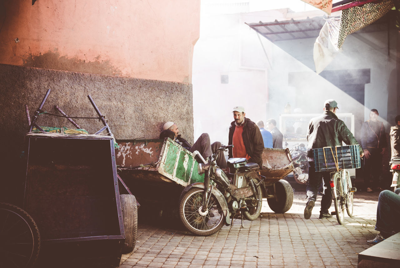 Life in Marrakech Adventure Arab Beautiful Light Bike City City Life Day Flare Life Lifestyles Market Marketplace Maroc Marrakech Medina Morocco Natural Light On The Road People Real People The City Light Travel Travelling EyeEmNewHere