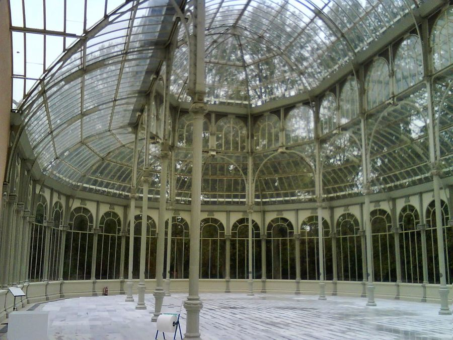 Built Structure Architecture No People Day Indoors  Beauty In Nature Spain, Madrid, Tourism, Tourist, Buildings Spain ✈️🇪🇸 El Retiro, Madrid El Palacio De Cristal Del Retiro Madrid Spain Architecture Travel Destinations History Nature Madrid Travel