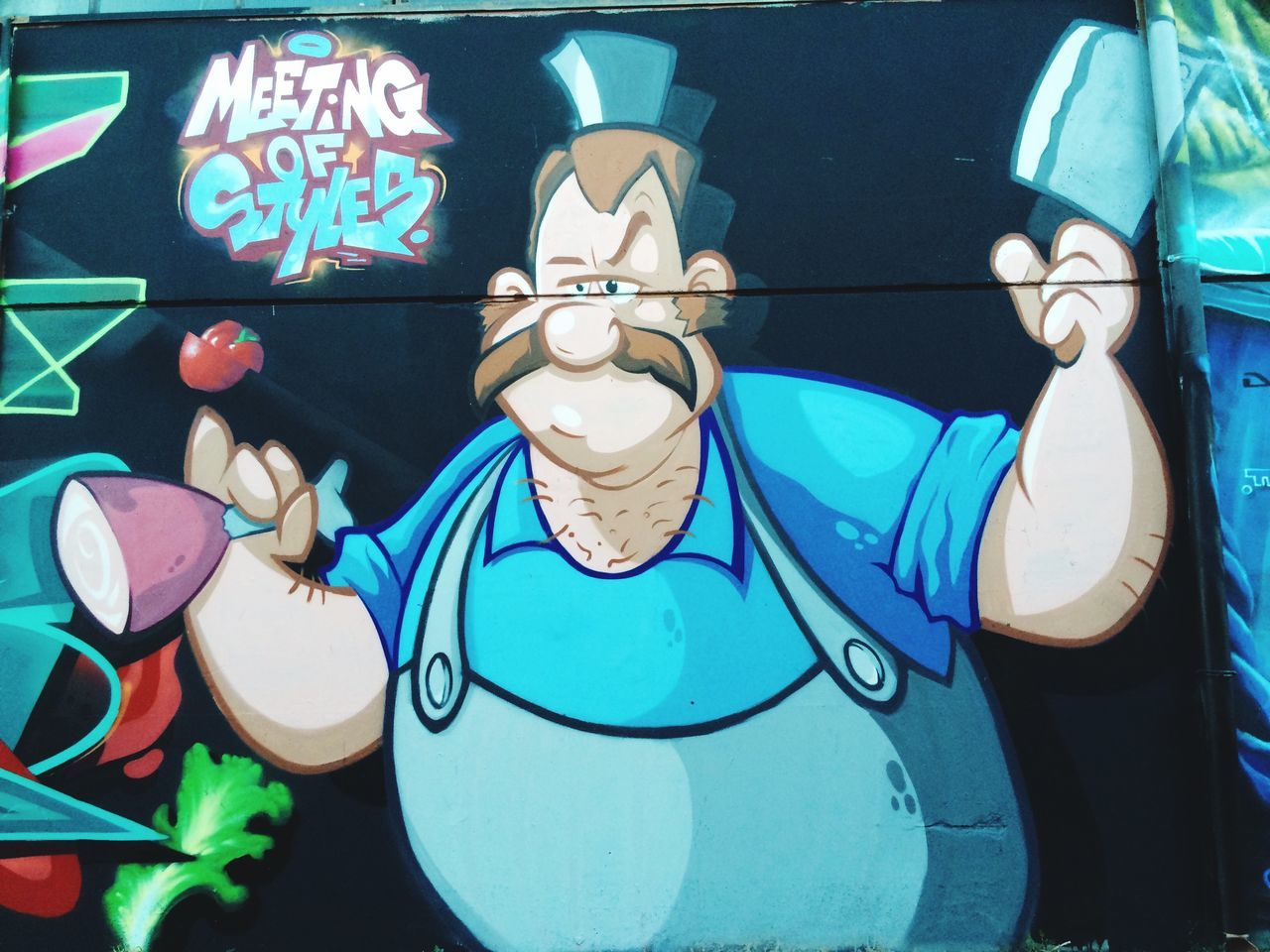 Follow me on Instagram: Alber_tino_ 📷📷📷 •Meeting of styles 2016 Trezzano sul Naviglio• #meetingofstiles #streetart #murales #art #picoftheday #photo #photography #amateur #photographer #fun #followme #photoporn