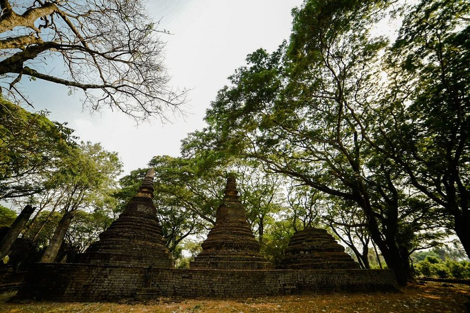 Religion Place Of Worship Travel Ancient Cultures No People Architecture History Sky Gold Outdoors Day
