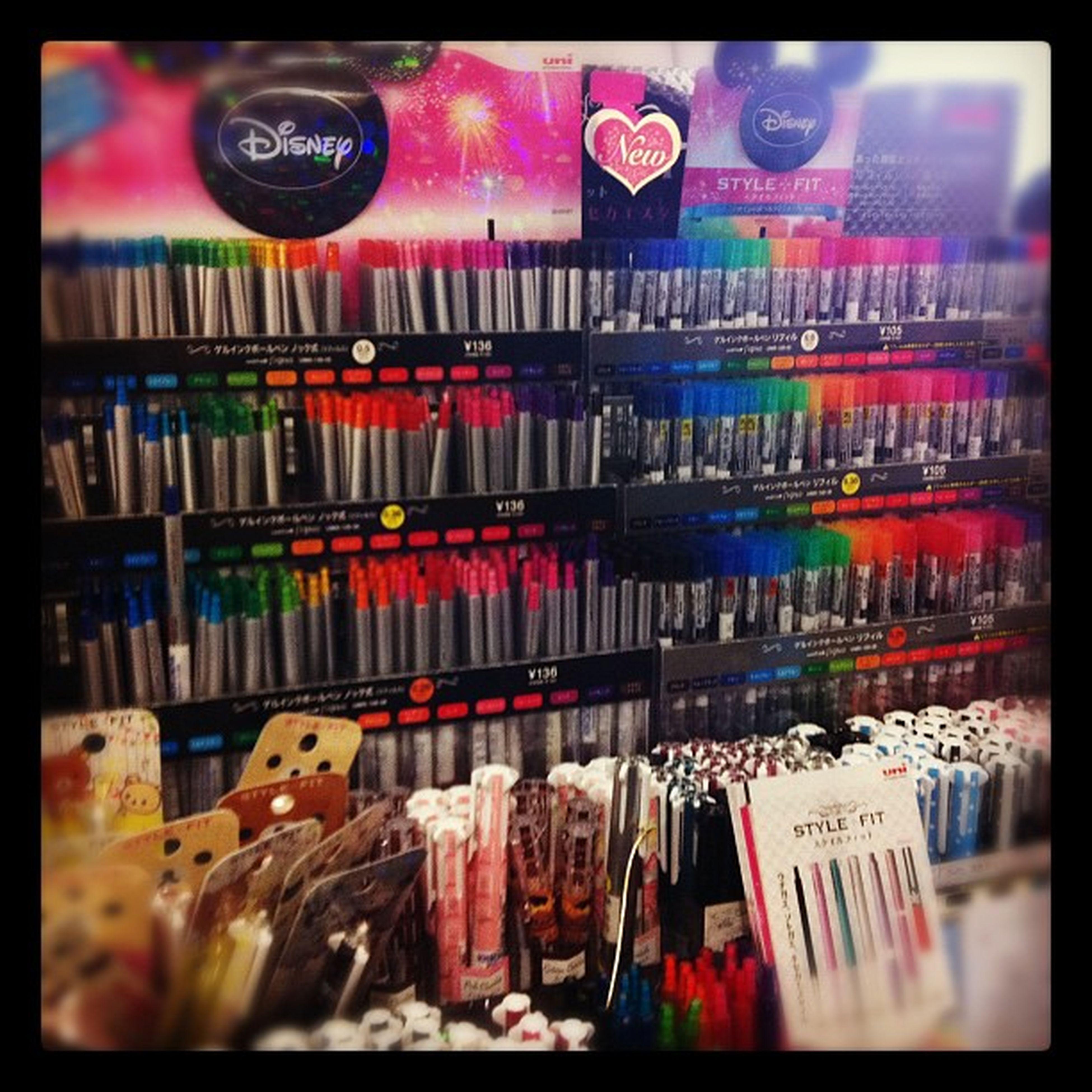 Things you see in Kinokuniya Sydney Happy Pens Stylefit
