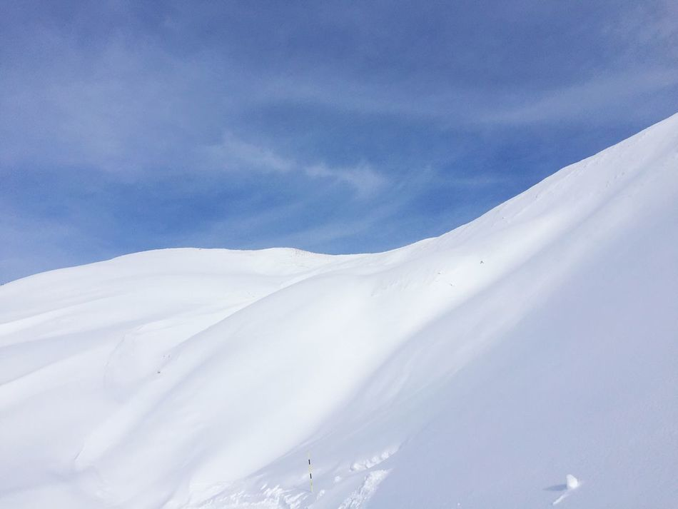 Nebelhorn Allgäu Snow Winter Sky Mountain
