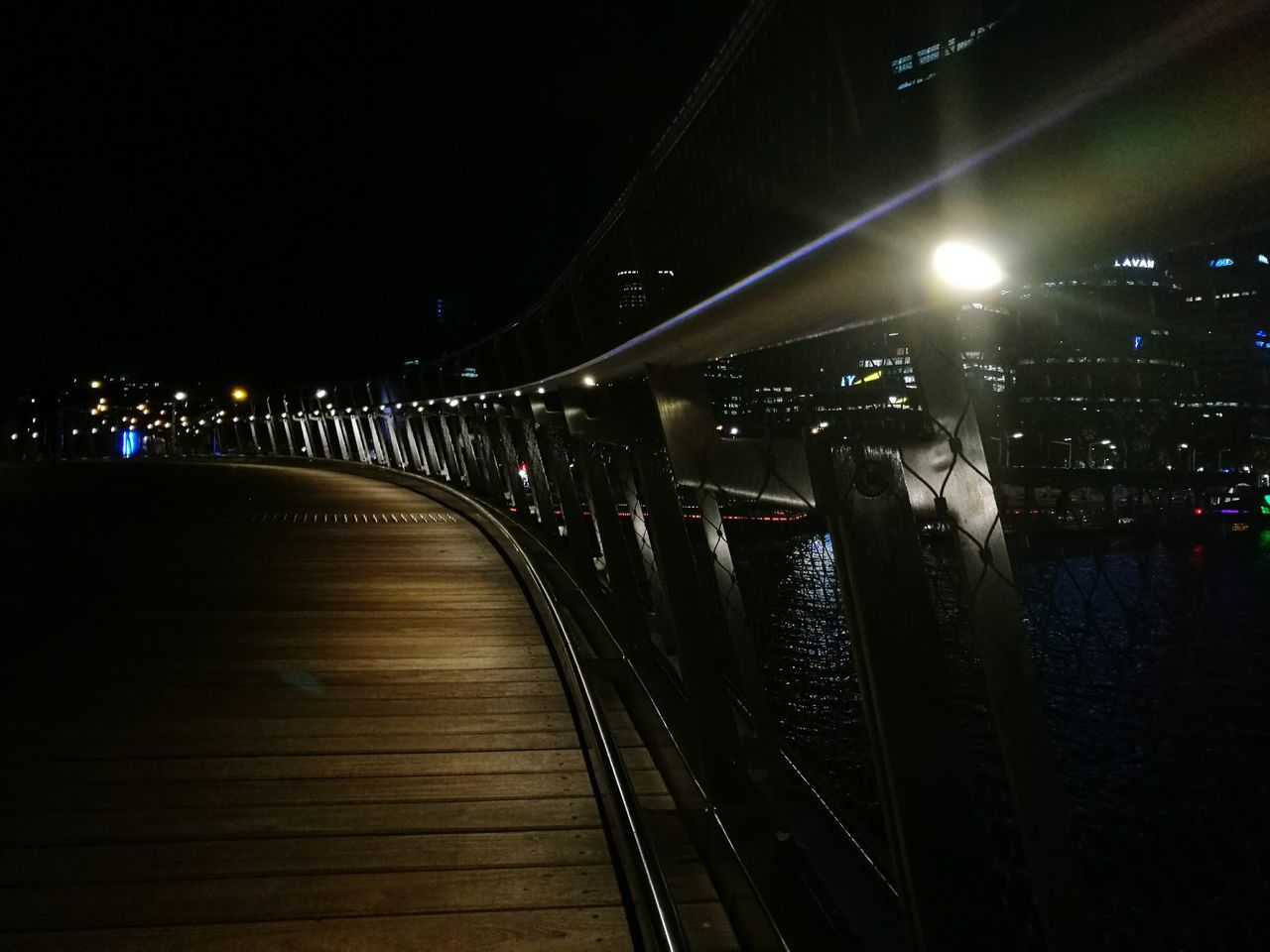 Follow the lights.. Elizabeth Quay Perth Illuminated Perthbynight Bridge HuaweiP9 Huaweiphotography