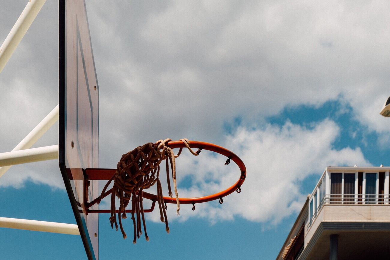 Beautiful stock photos of basketball, Architecture, Basketball - Sport, Basketball Hoop, Broken