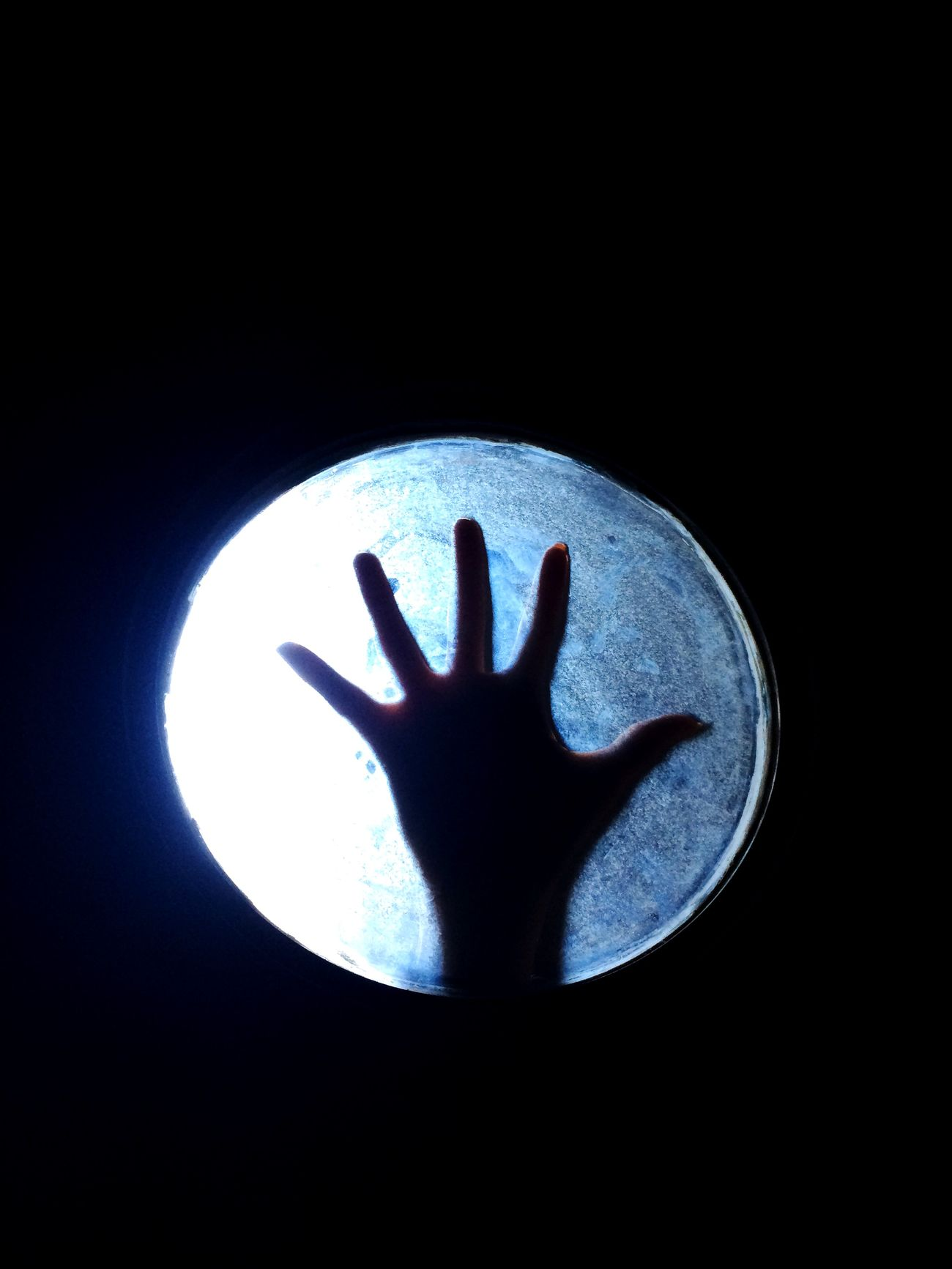 Hand Light Iut Black Windows Photography