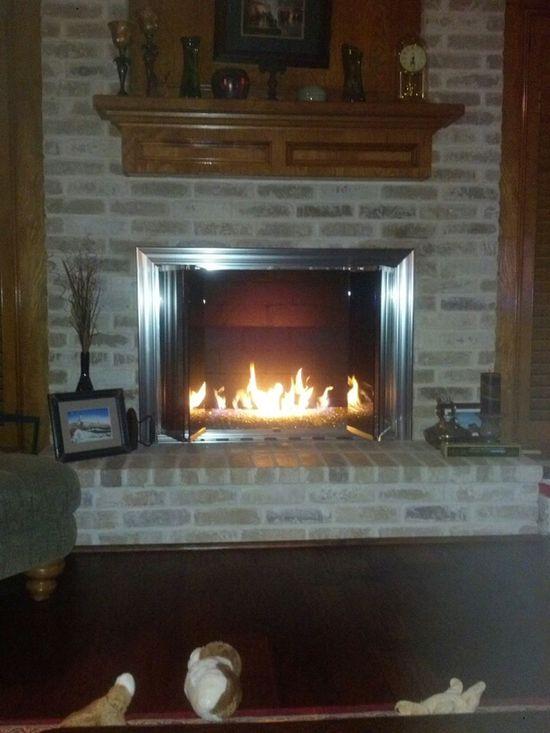 Relaxing And Enjoying A Fire. Brrrt