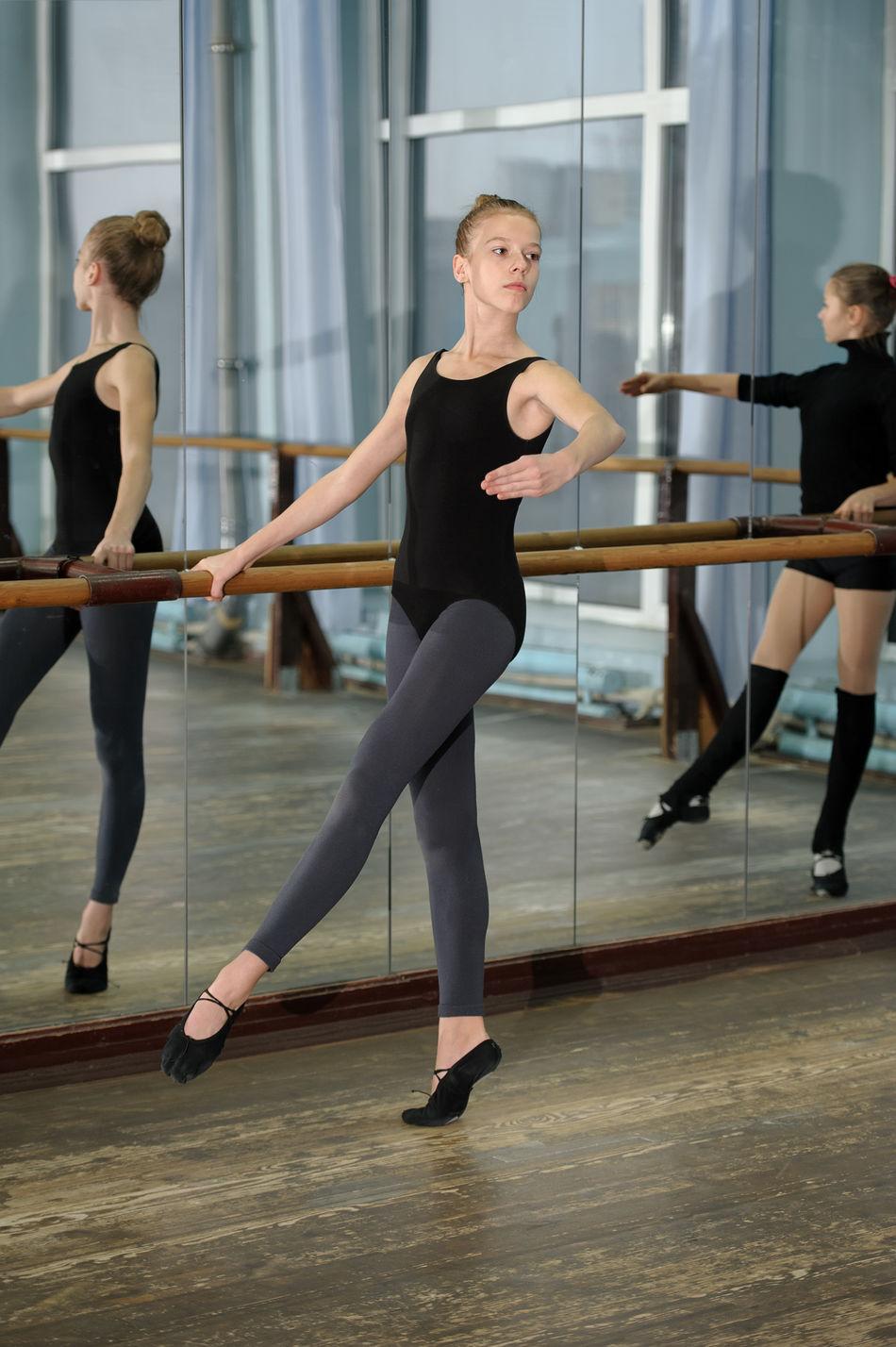 Beautiful stock photos of tanz, sport, dancer, indoors, people