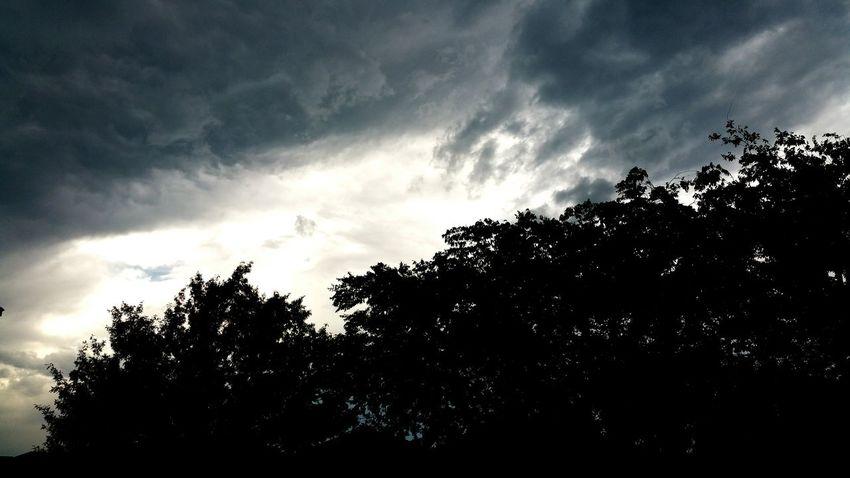 Clouds Storm Rain Dark
