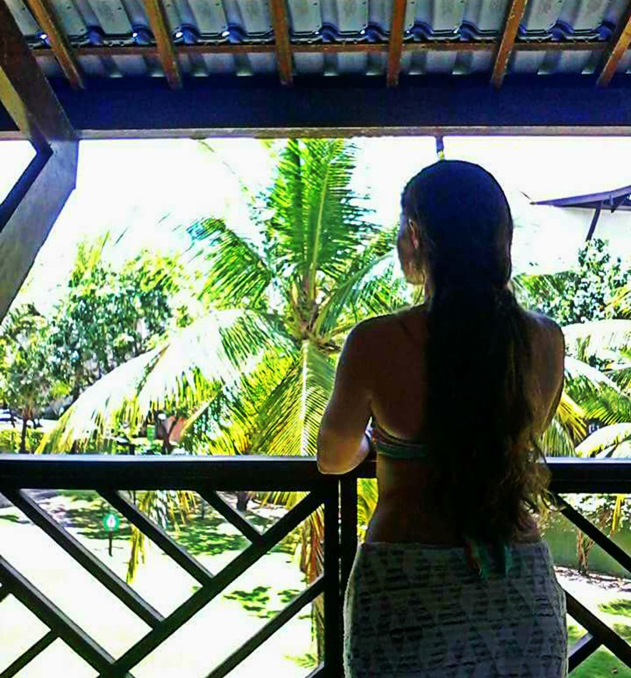 First Eyeem Photo Porto De Galinhas Porch Resort View From The Back Long Hair Peace Woman Portrait Silhouette