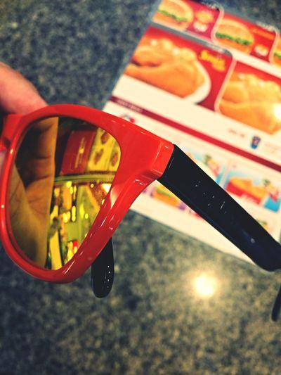 Finally got to change my Frogskins' legs. Looking good. Oakley Frogskins Aquatique Bandar Seri Begawan Sunglasses