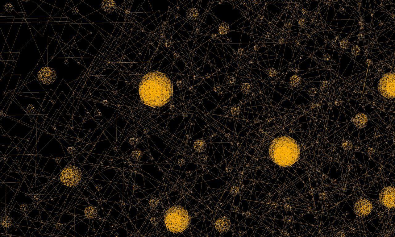 night, yellow, illuminated, no people, black background, outdoors, close-up, astronomy
