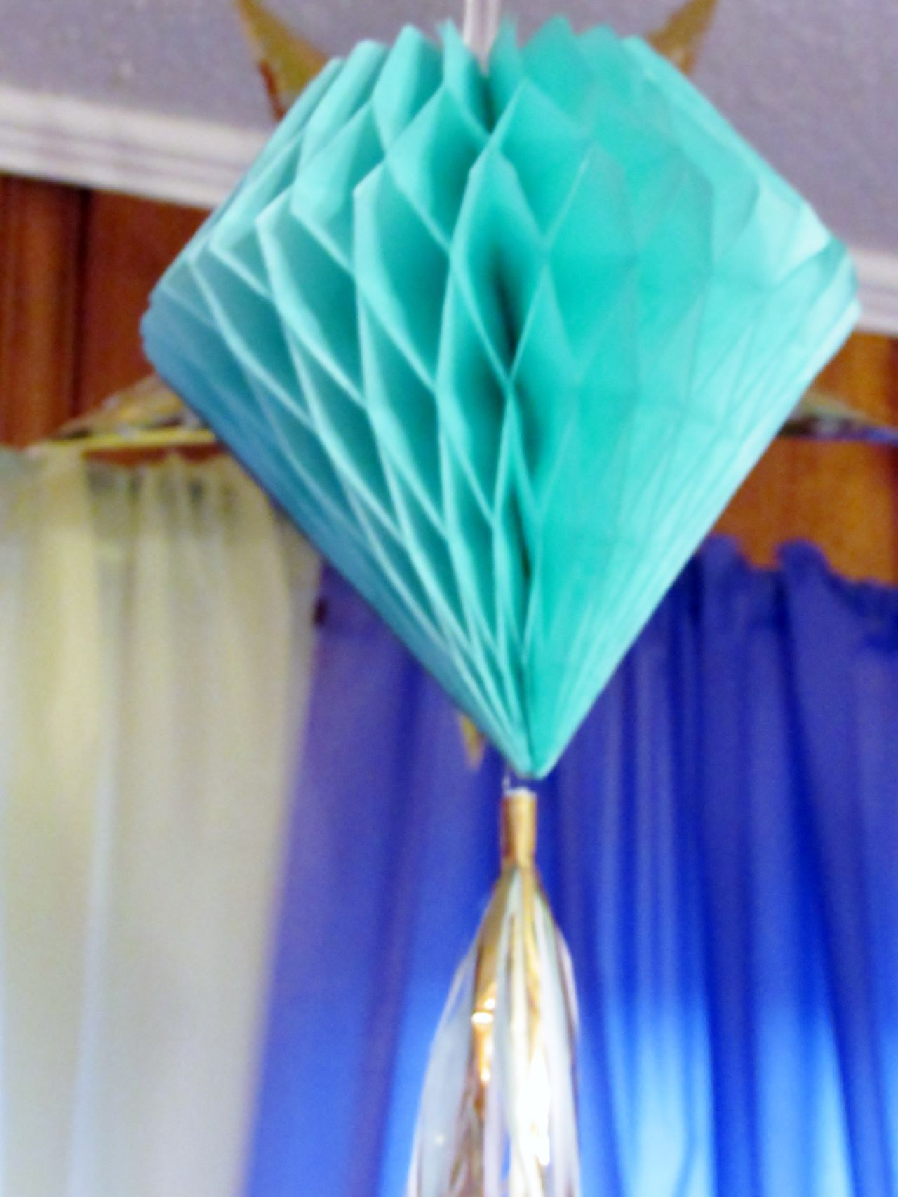 Decoration Crepe Paper Hanging Party Time Party Decoration Teal Lantern Birthday Party EyeEm