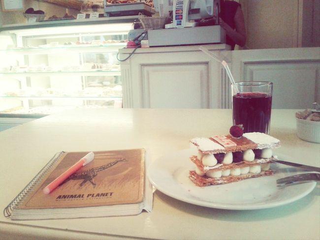 girls wokrday♥♡ Work Food Sweet Mood