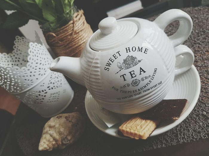 Food And Drink Old-fashioned Close-up Teapot Drink Tea Tea Time Cookies Green Tea ❤️