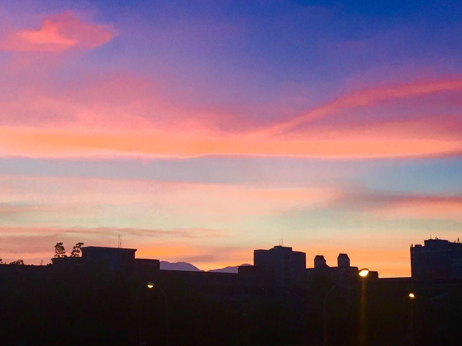 日出 好美的漸層色
