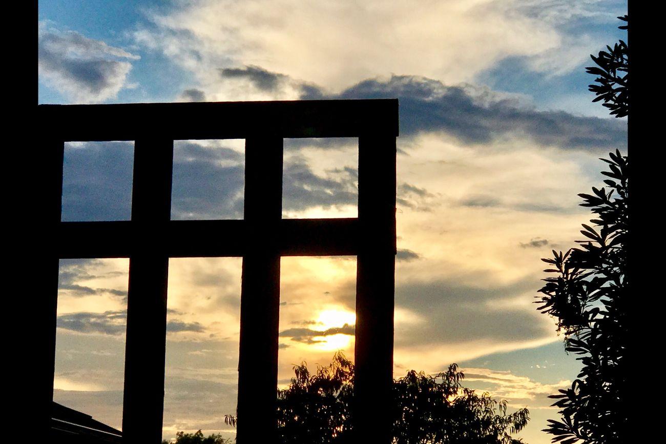 Just another gorgeous sunset tonight ☀️💛🍃💛☀️ Sunset Beautifulnight Blissful 💛