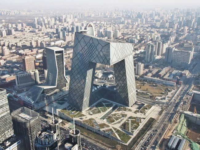 Architecture Landscape RemKoolhaas Urban Geometry