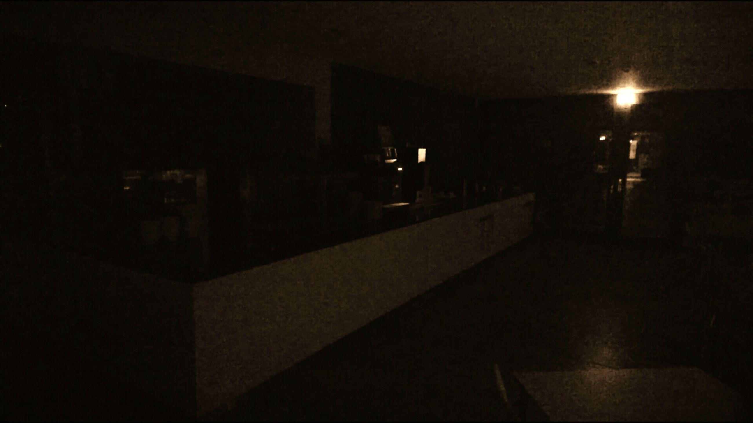 illuminated, night, architecture, lighting equipment, built structure, dark, electric light, empty, no people, lit, glowing, light
