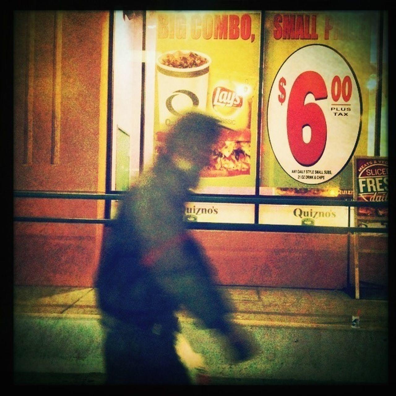 Walking Moving Through Darkness