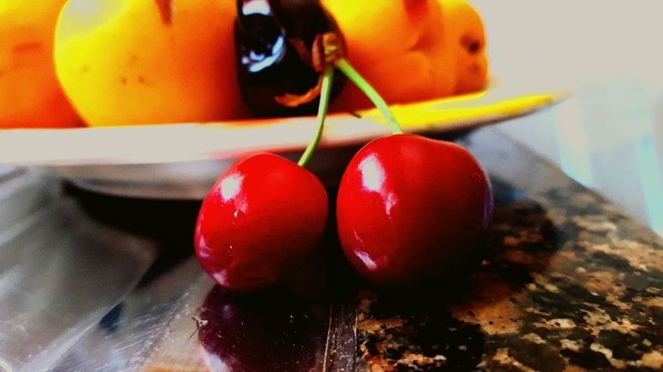 Fruitsalad Red Fruits Cerises Hanging Out Taking Photos Check This Out Hello World Cheese! That's Me Relaxing Enjoying Life Food And Drink Enjoying Life First Eyeem Photo Found On The Roll I Love It ❤ Check This Out Taking Photos Delicious Yummy Food Beautiful EyeEm Best Sellers Chery Cherry Blossoms Cherry