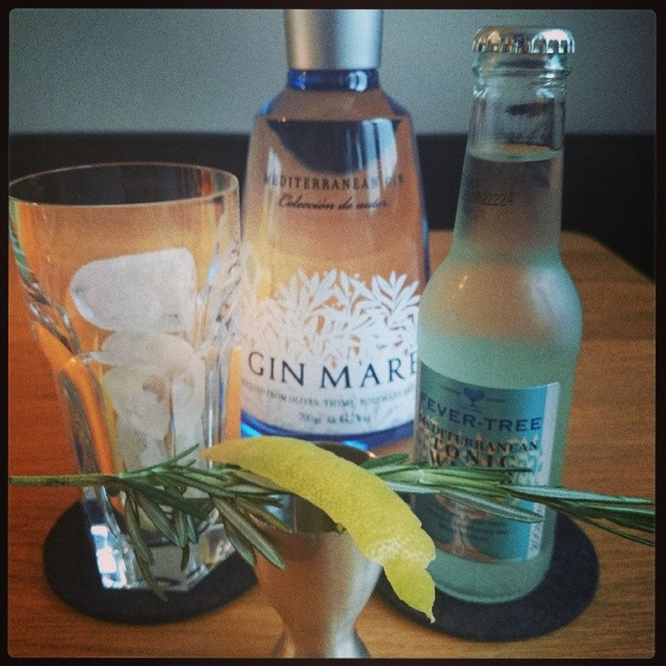 that's the stuff, boys and girls. Ginmare Fever -tree Rosemary