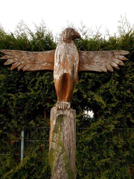 Wood Sculpture Wood Statue Wood