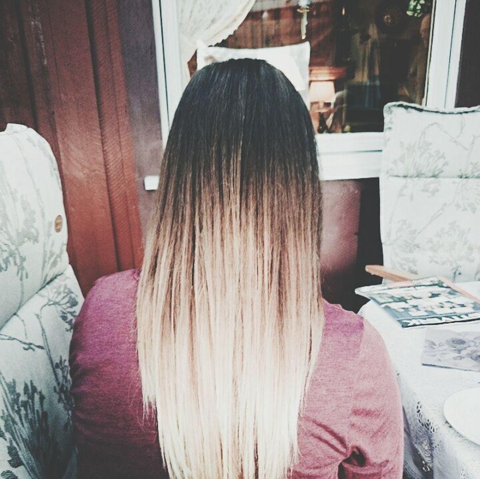 Hair Girl Ombre Ombre Hair Dip Dye Hair