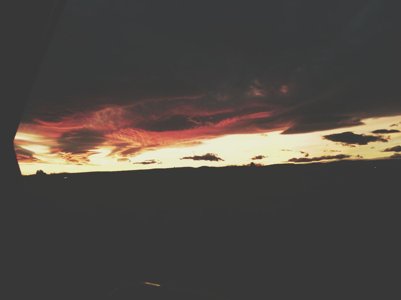 Sunset #sunrise #sun #TagsForLikes #TFLers #pretty #beautiful #red #orange #pink #sky #skyporn #cloudporn #nature #clouds #horizon #photooftheday #instagood #gorgeous #warm #view #night #morning #silhouette Instasky All_sunsets