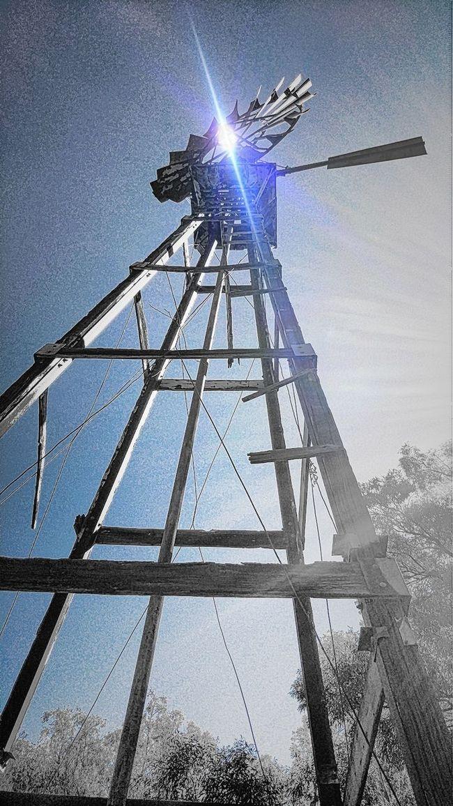 Windmill Upshot Blue Sky Woodframe