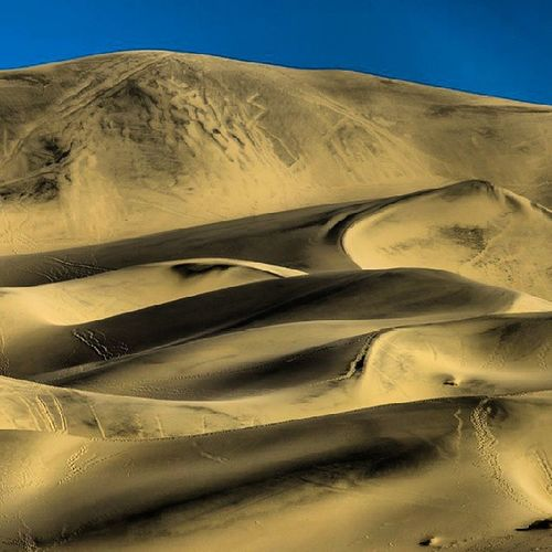 Desert Waves - Eureka Dunes deathvalley california