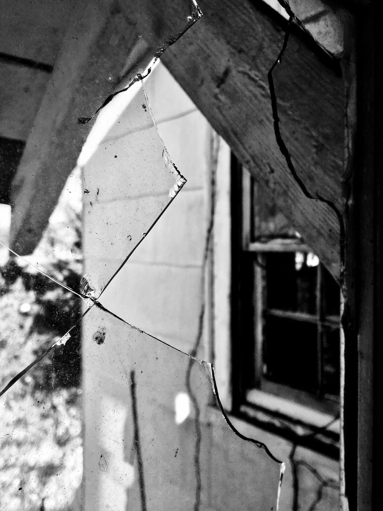Built Structure No People Day Close-up Architecture Building Exterior Outdoors Nature Change Abandoned Abandoned Places Abandoned Buildings Architecture Hanging Broken Broken Glass