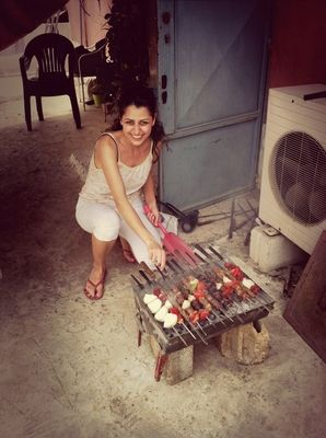 barbecue in Beirut by Maria Ellamaria Kasbarian