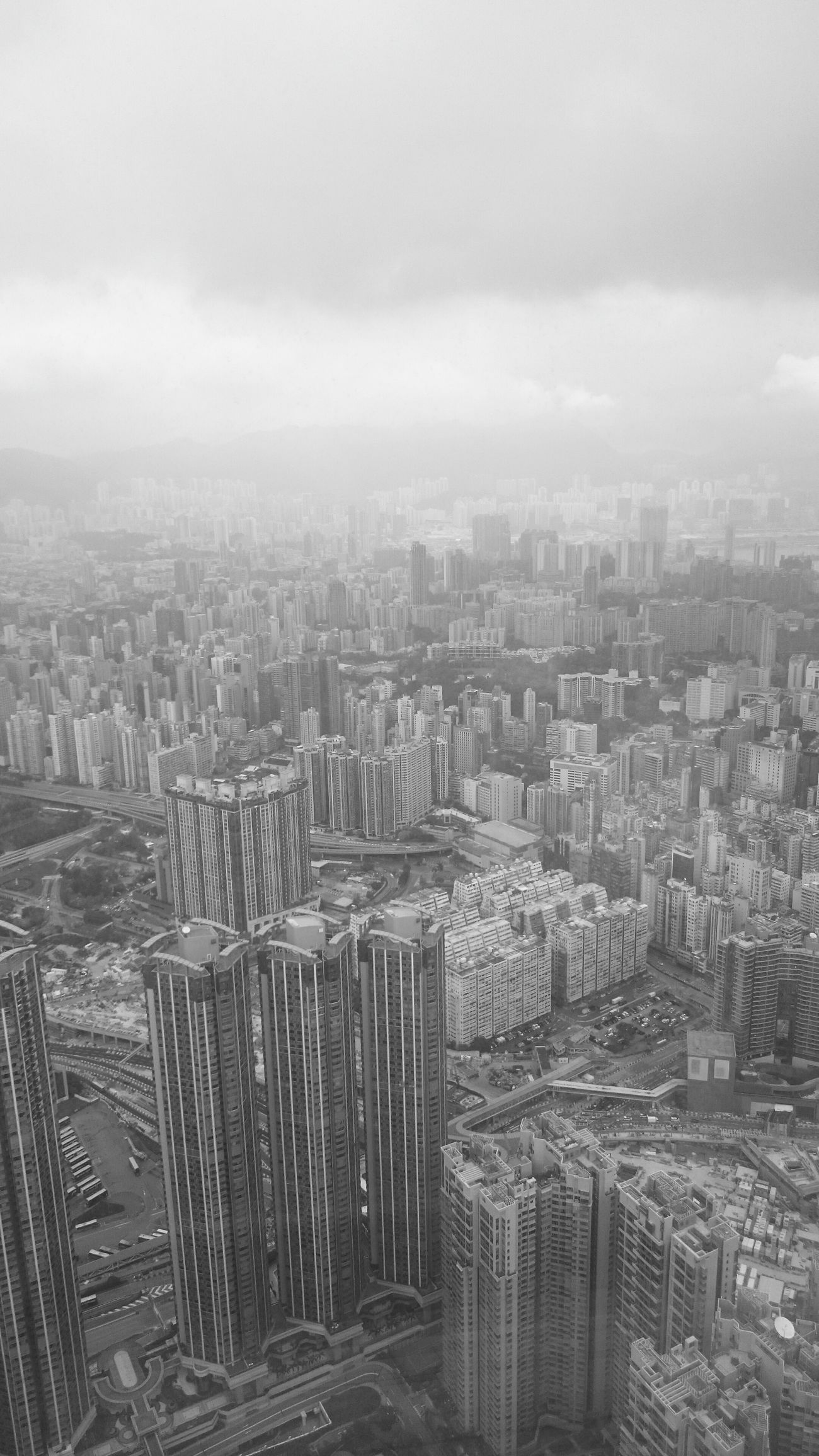 Architecture No People Sky100hk Sky100 Hongkongstreet Hongkongcity Hong Kong City Hongkongcollection Hongkonglife Hongkongphotography HongKong High Angle View Urban Skyline Cityscape Skyscraper B&w Street Photography Black And White Hongkong Black&white Fortheloveofblackandwhite Blackandwhite Blackandwhite Photography