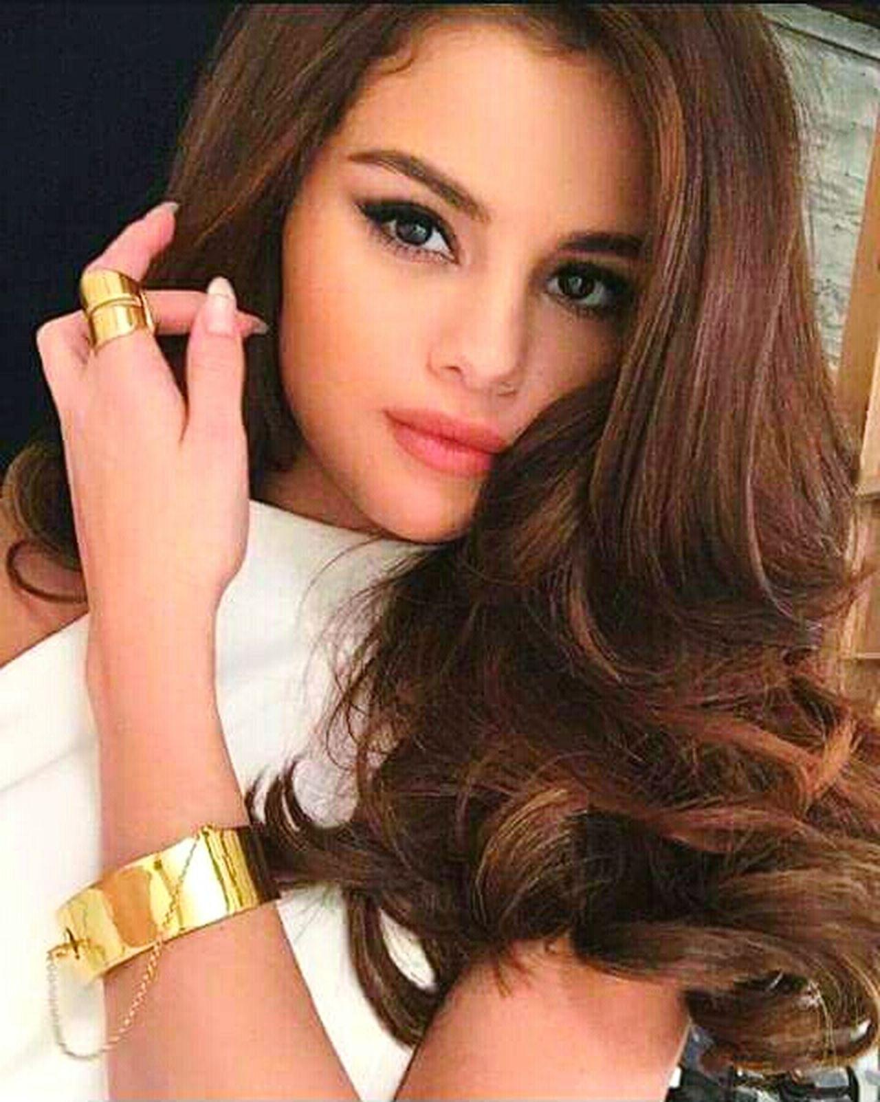 selena Gomez 😍 Long Hair One Woman Only Close-up Beautiful Woman Selena Gomez ❤