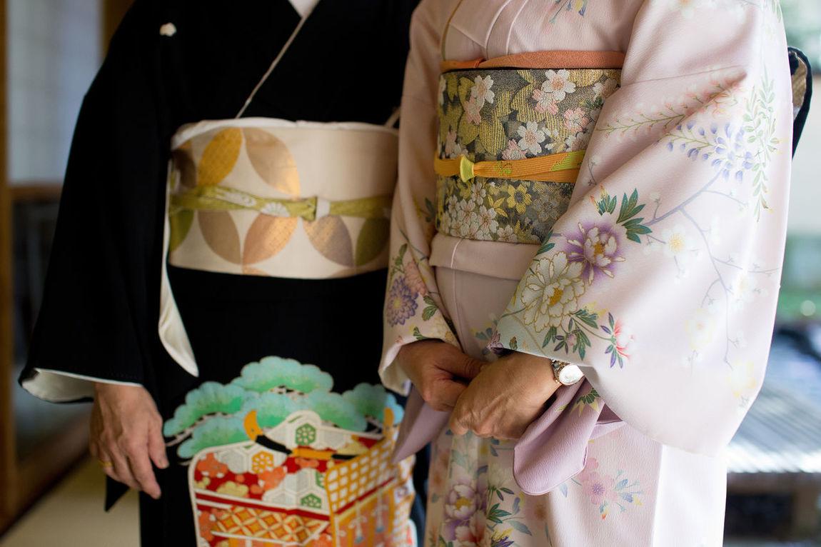 Close up of Japanese traditional Kimono Blossom Check This Out Close-up Clouds And Sky Culture Design Interior Drees Embroidery Embryo Fashion Fashion&love&beauty Female Flower Formal Attire Indoors  Jääpuikko Kimono KimonoStyle Person Sakura Sashimi  Stylish Textile Traditional Clothing