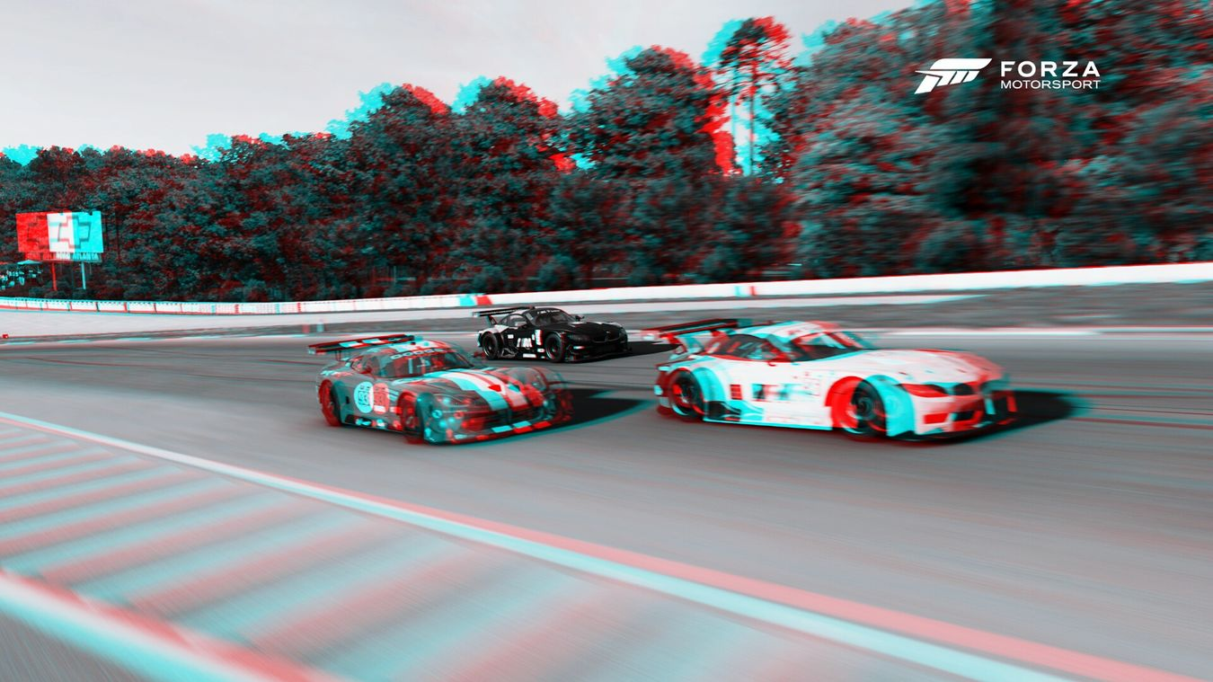 Forza Motorsport 6 3d racepic Bmw z4 SRT viper Selfmade 3D Picture Games On The Road Racing Picture Trophy Forzamotorsport6