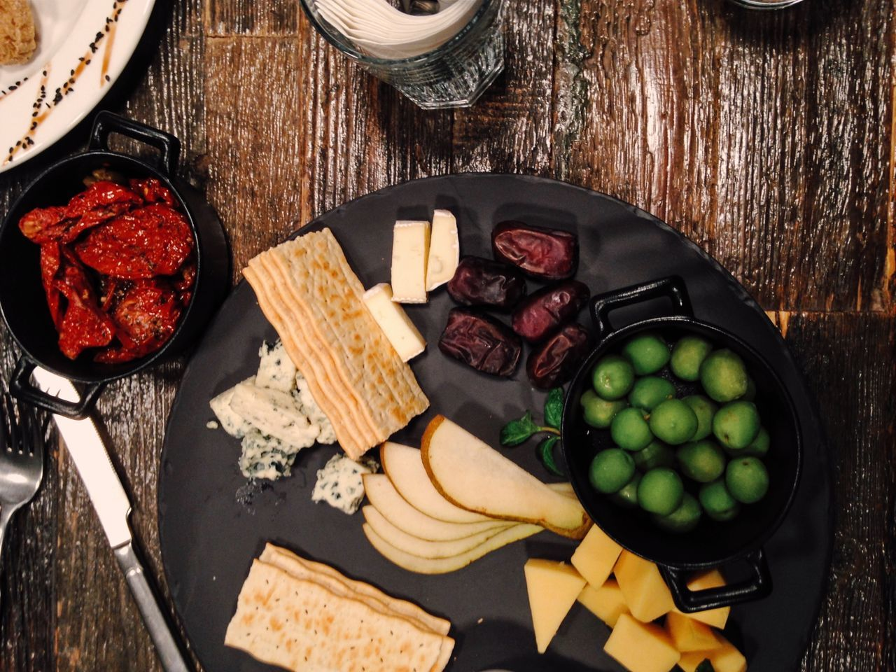 Snacks for wine Wood - Material Vegetable Food And Drink Food No People Ingredient Healthy Eating Close-up Freshness Cheese