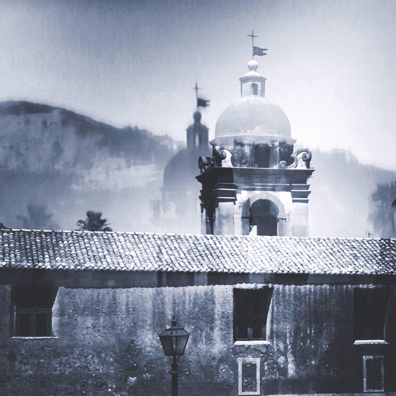 Sizilia Sizilien Taormina Old Buildings Old Town Churchporn Church Editing