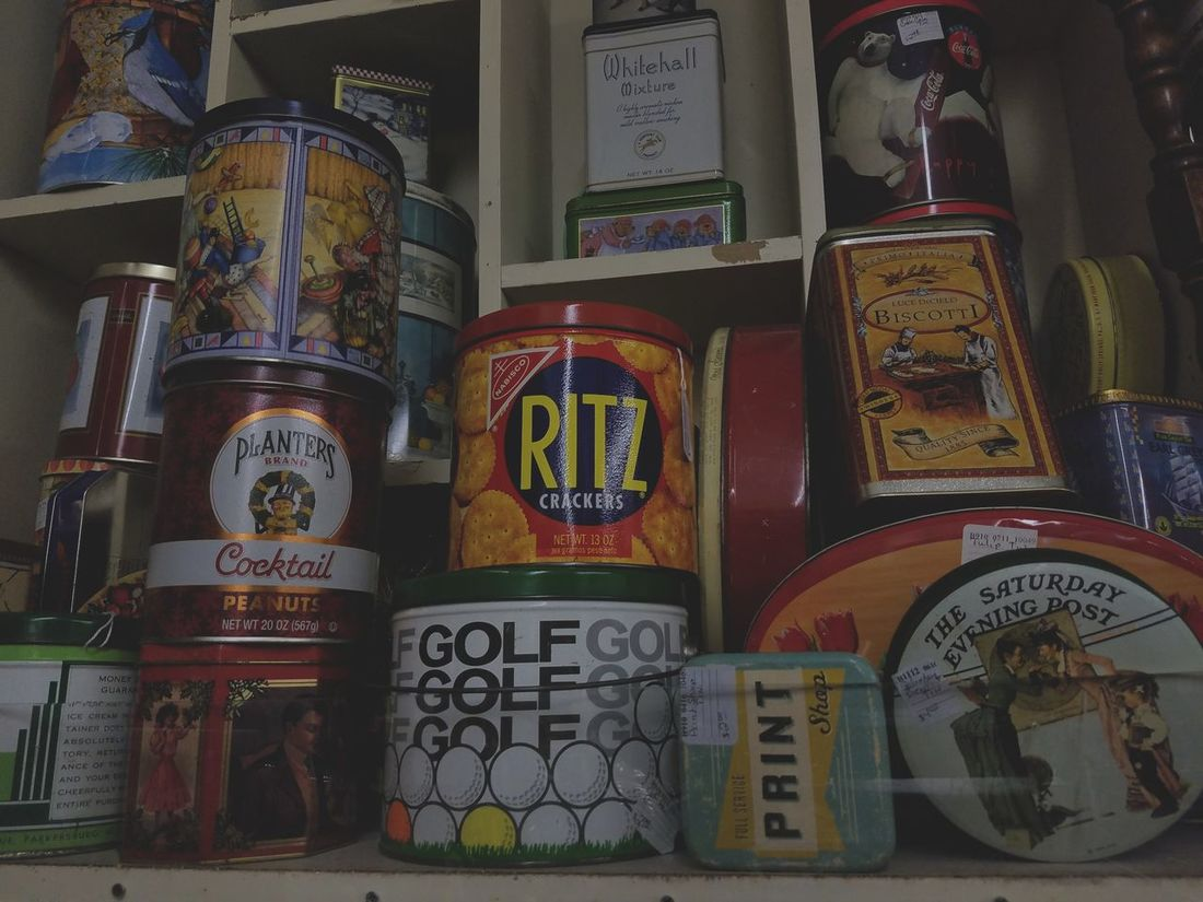 Antique Shop Old Stuff Back In The Days Vintage Tin Old Stuff Store Ritz