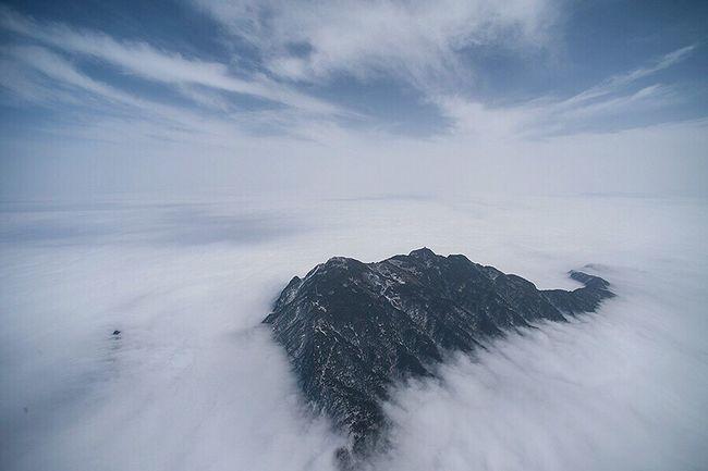 峨眉山--17 Snow Winter Cold Temperature Sky Beauty In Nature Nature Scenics Landscape Tranquility No People Outdoors Cloud - Sky Day