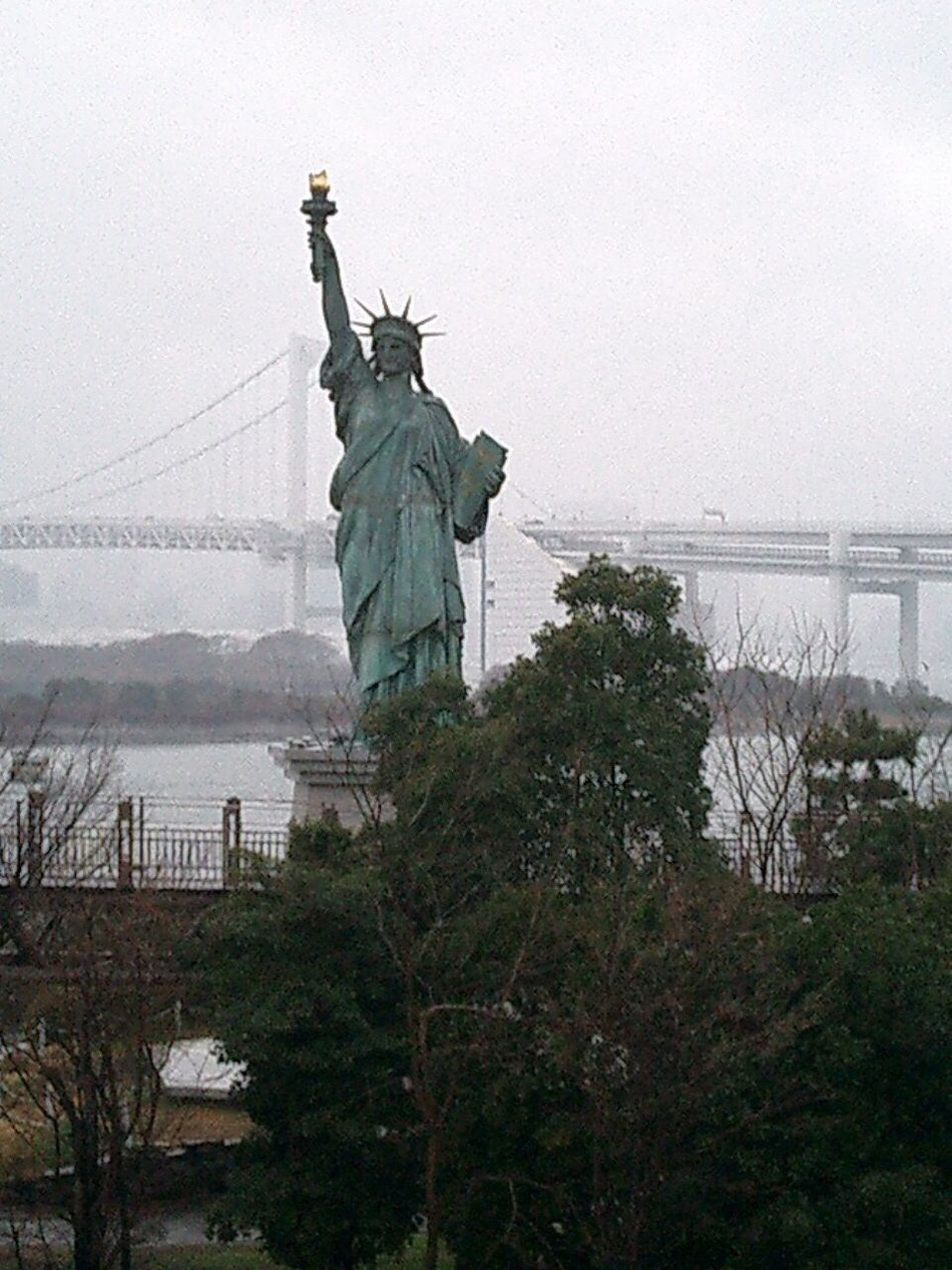 Tokyo Bridge Statue Of Liberty Tokyo