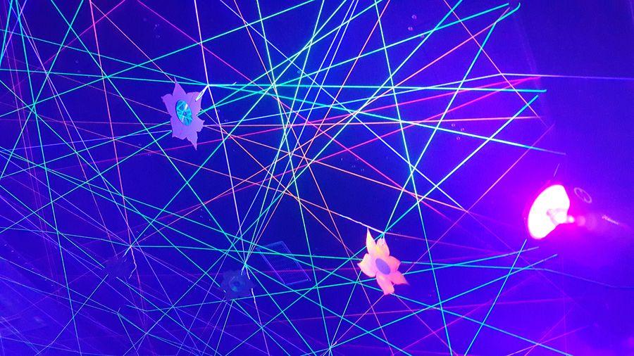 Black Cube Invasion Rave Partydecorations Psychedelicart Psychedelictrance Stringart Trippyart Goa Party