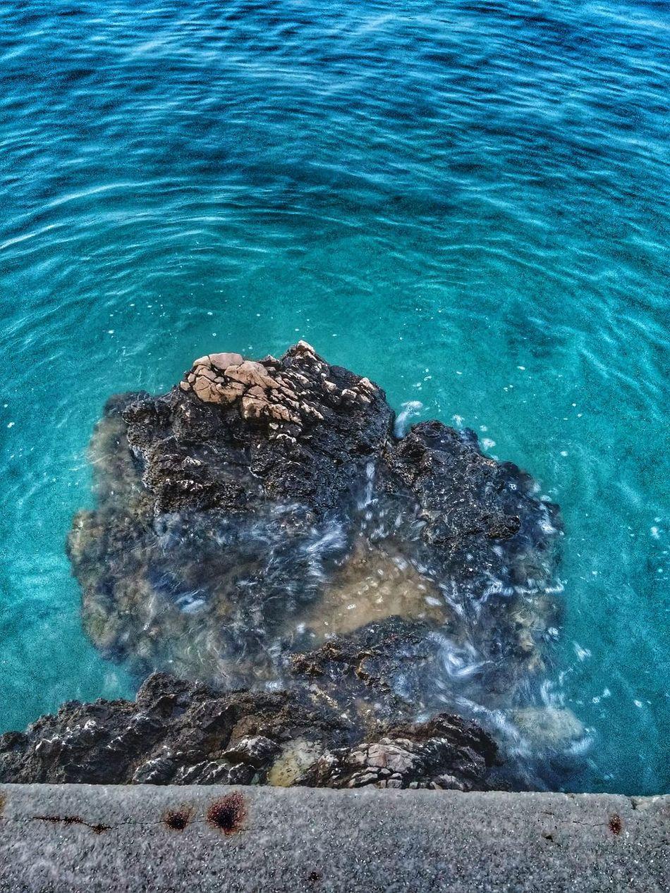 Summer Island Krk Adriatic Sea The Reef
