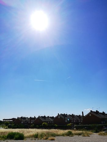 Sun Outdoors Day Sunlight No People Sky Blue Clear Sky Building Exterior Nature Picoftheday Spain♥ Twoways Illuminated Tranquility