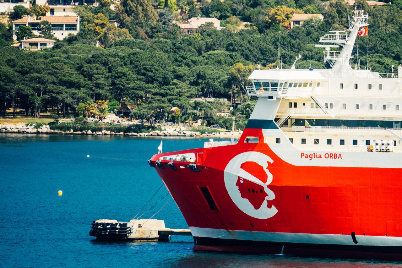 Bonifacio Corse Corsica Cruise Ship Day Mode Of Transport Nautical Vessel No People Sea Ship Transportation Water