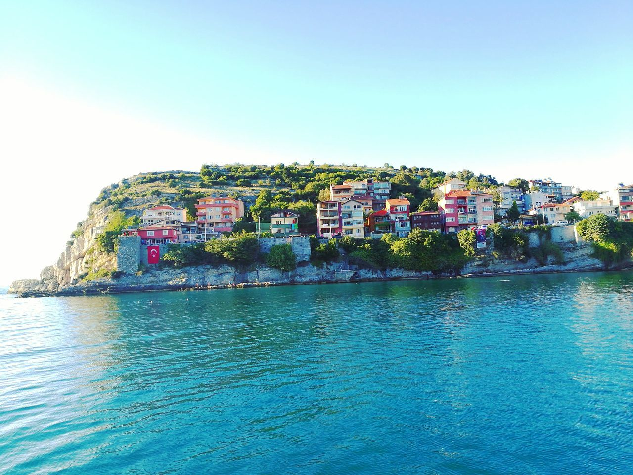 A view from Amasra, Bartın, Turkey Amasra Bartın Sea Blue Sea And Sky Sky From My Objective From My Perspective From My Point Of Veiw Newtalent HuaweiP9 Huawei P9 Leica Huawei Leica People And Places