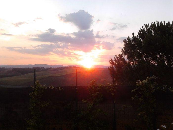 What I Want To Shoot With A 360 Panono Camera Italy Sundown Monteroni D'arbia